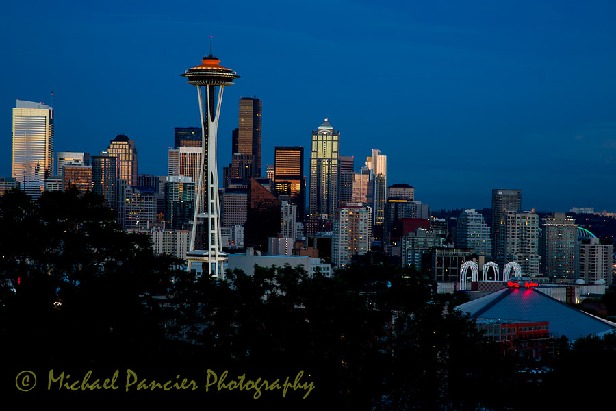 View from Kerry Park Queen Anne's District