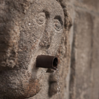 Water stone face