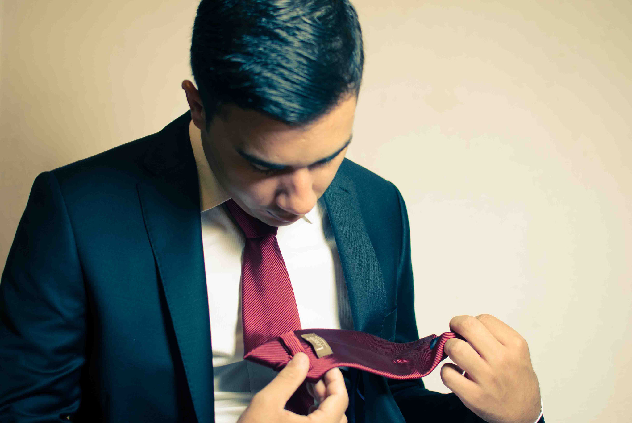 Photograph Erwann & the red tie by Alex Drl on 500px