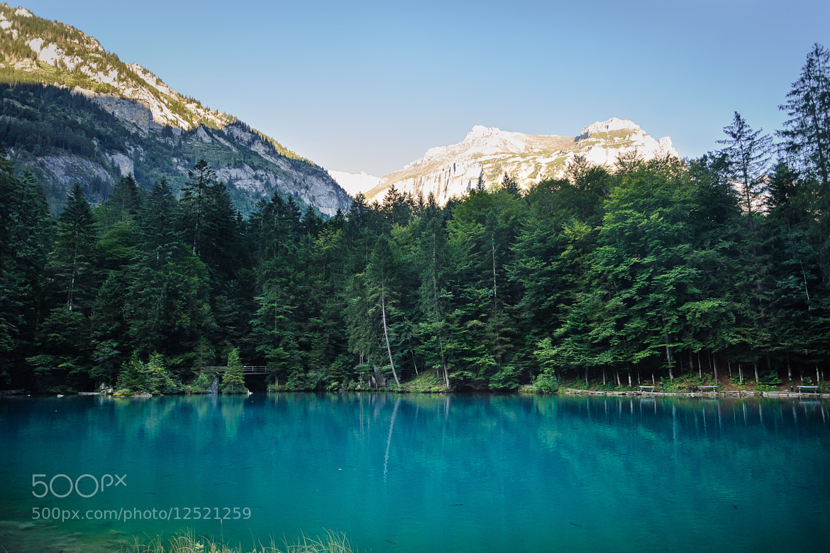 Photograph Blue Lake, Kandergrund by Tobias Gass on 500px
