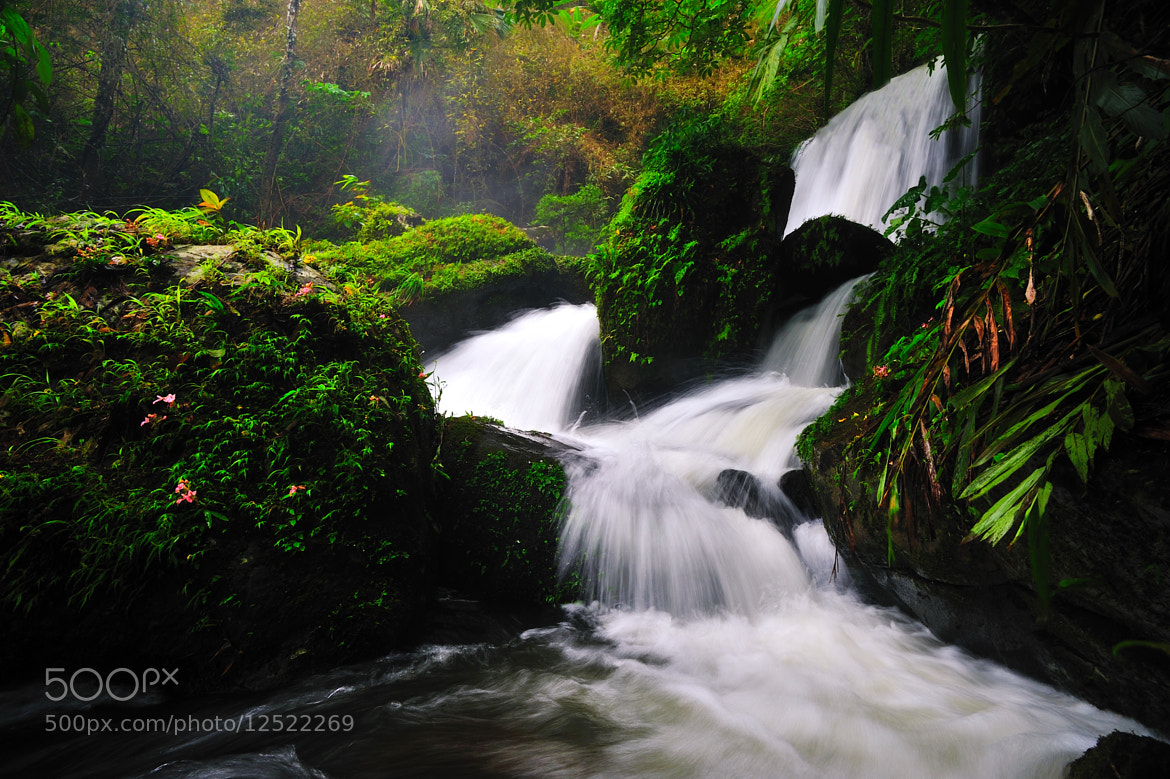 Photograph Romklao-Paradon Waterfall by Rapat Boonpong on 500px