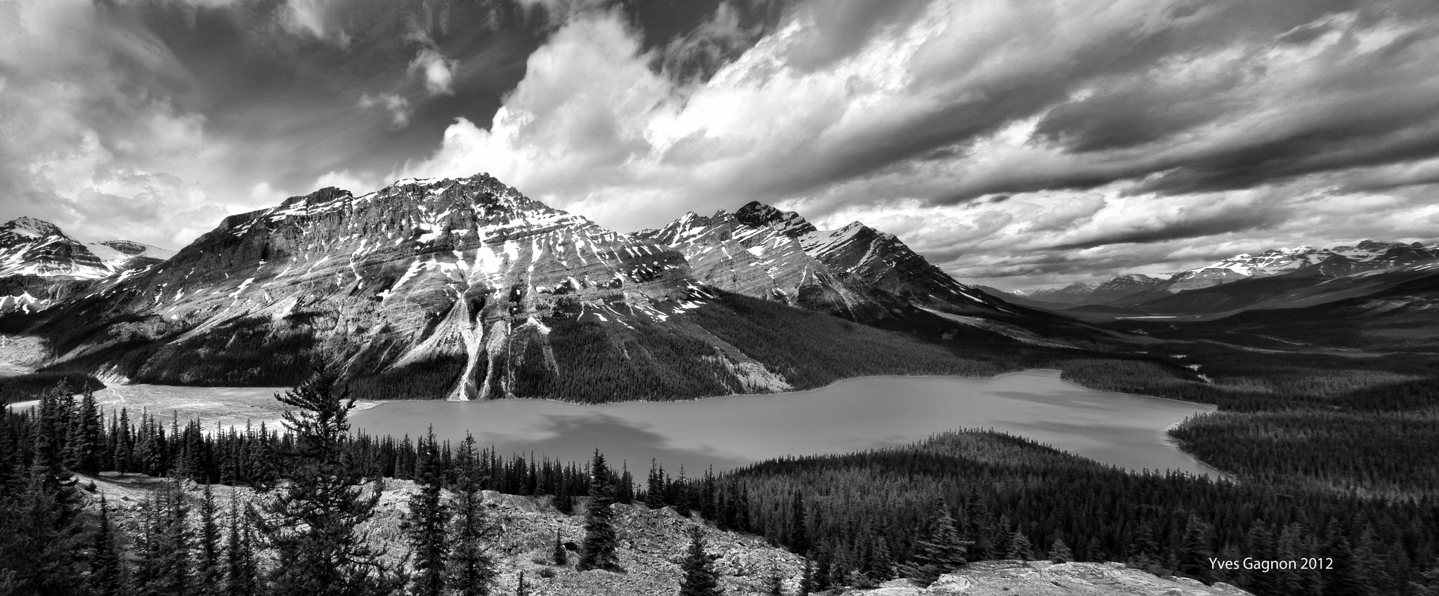 Photograph Peyto Lake, Jasper National Park Canada by Yves Gagnon on 500px