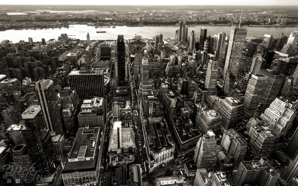 Photograph Hudson view from the Empire-State Building by Philippe Lejeanvre on 500px