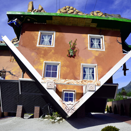 Upside Down House in Tyrol