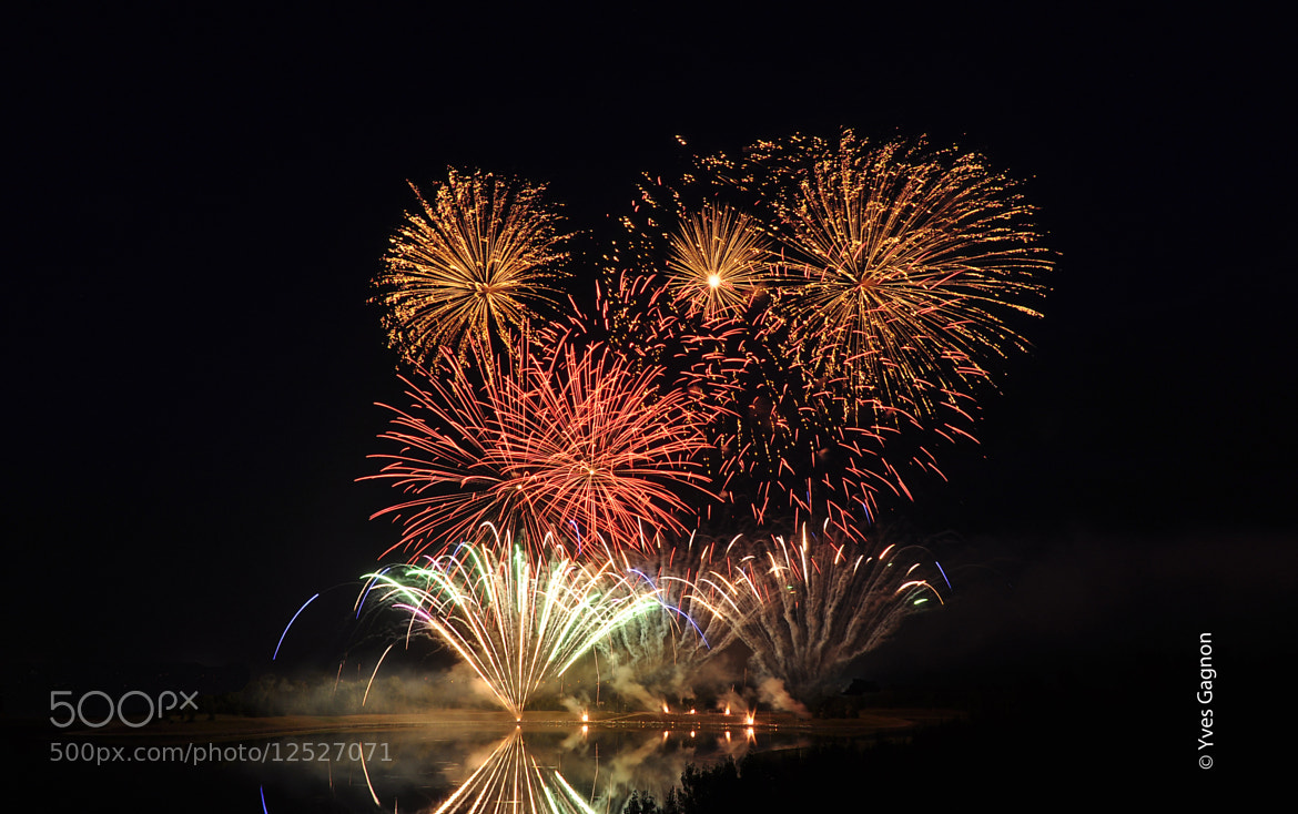 Photograph Globalfest Fireworks by Yves Gagnon on 500px