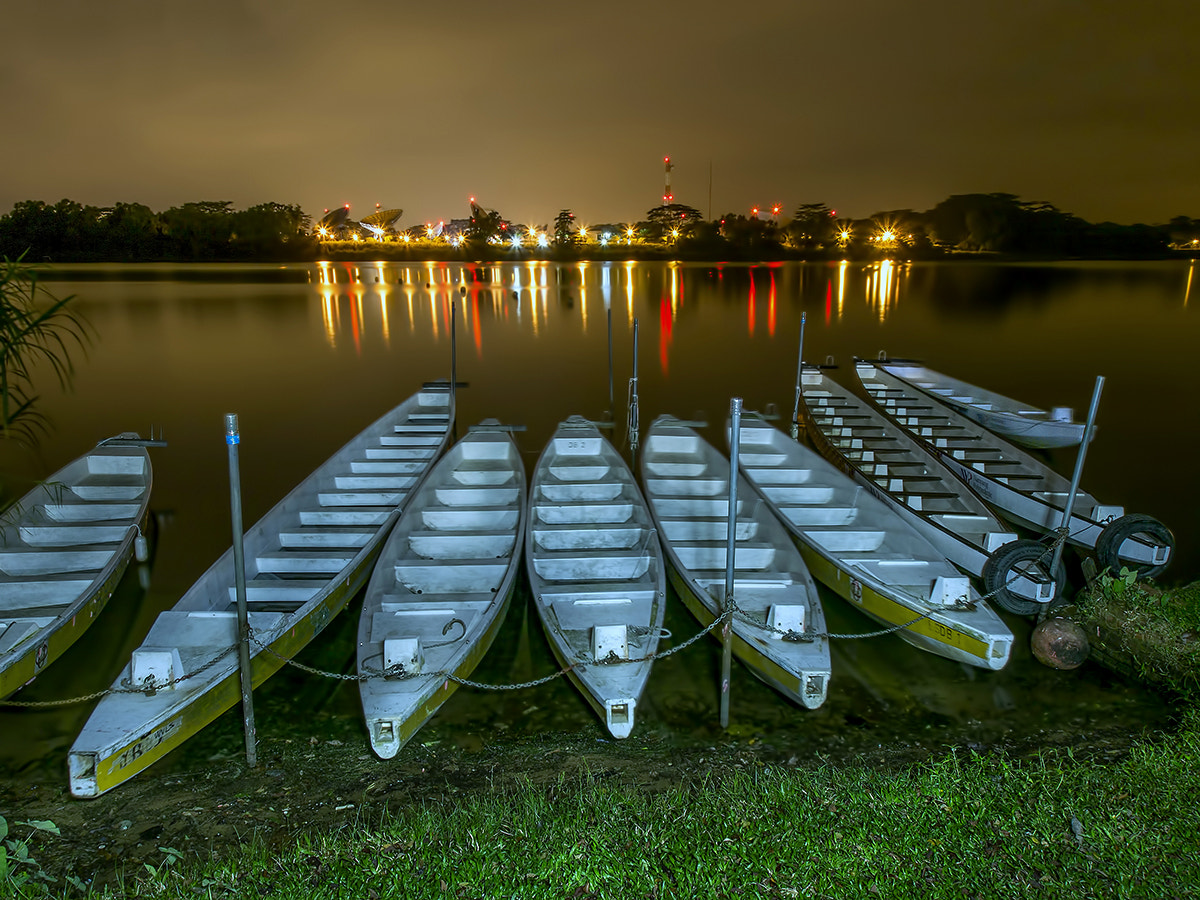 Photograph Light Painting - Morning Drangon Boat by Partha Roy on 500px