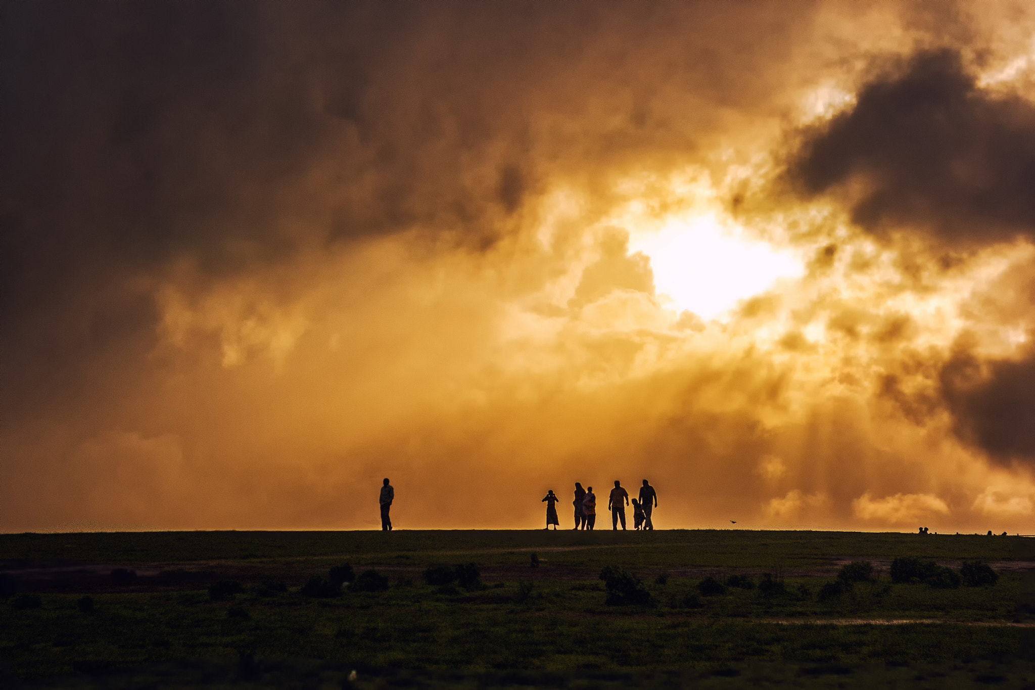 Photograph Family Evening Stroll by Pablo Munshi on 500px