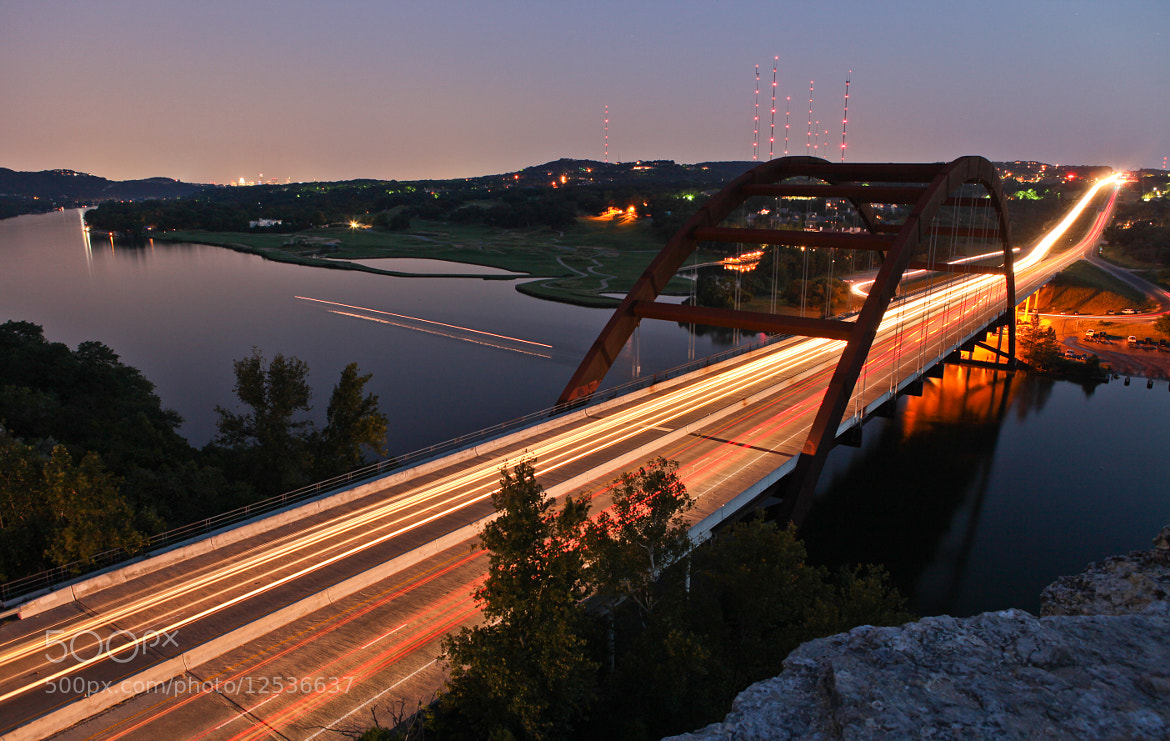 Photograph Pennybacker Bridge after Sunset by Björn Borgers on 500px