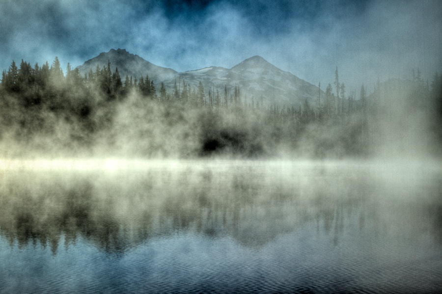Photograph Foggy Sisters at Scott Lake by Stephanie Sarles on 500px