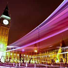 London night trail by Agradoot Ghatak (agradoot)) on 500px.com