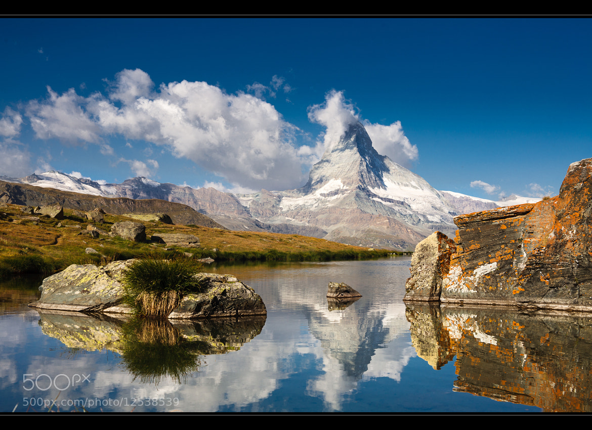 Photograph Blue Matterhorn by Roger Uceda Molera on 500px