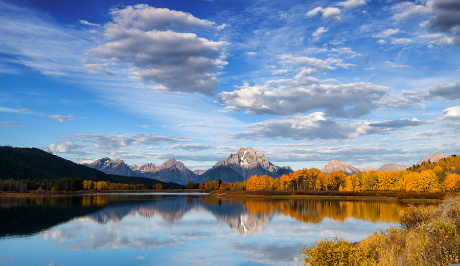 Oxbow Bend in Fall Color by J. Michael Darter on 500px.com