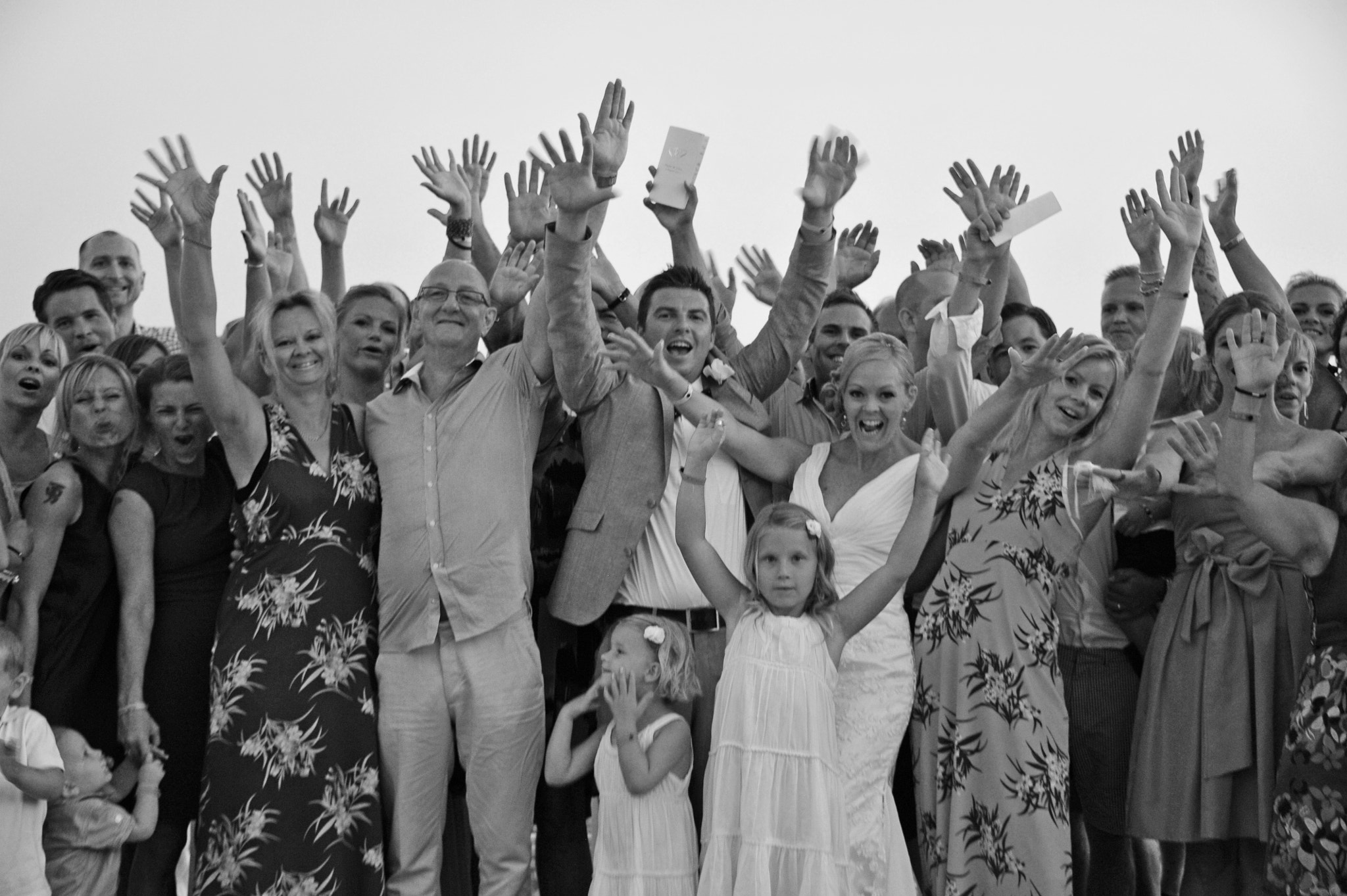 Photograph Group Photo at Wedding by Johan Dahlberg on 500px