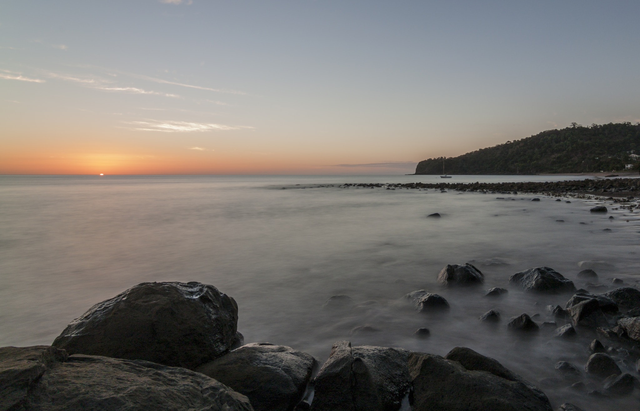 Photograph Sunset on Boueni Beach 3 by Sylvain PONS on 500px