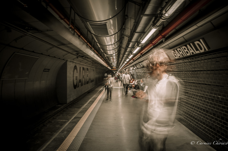 Urban stress by Carmine Chiriacò on 500px.com