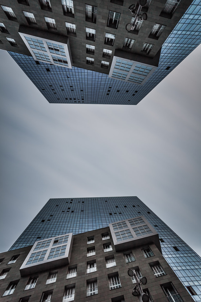 Photograph Mirroring Towers by Samuel Berthelot on 500px