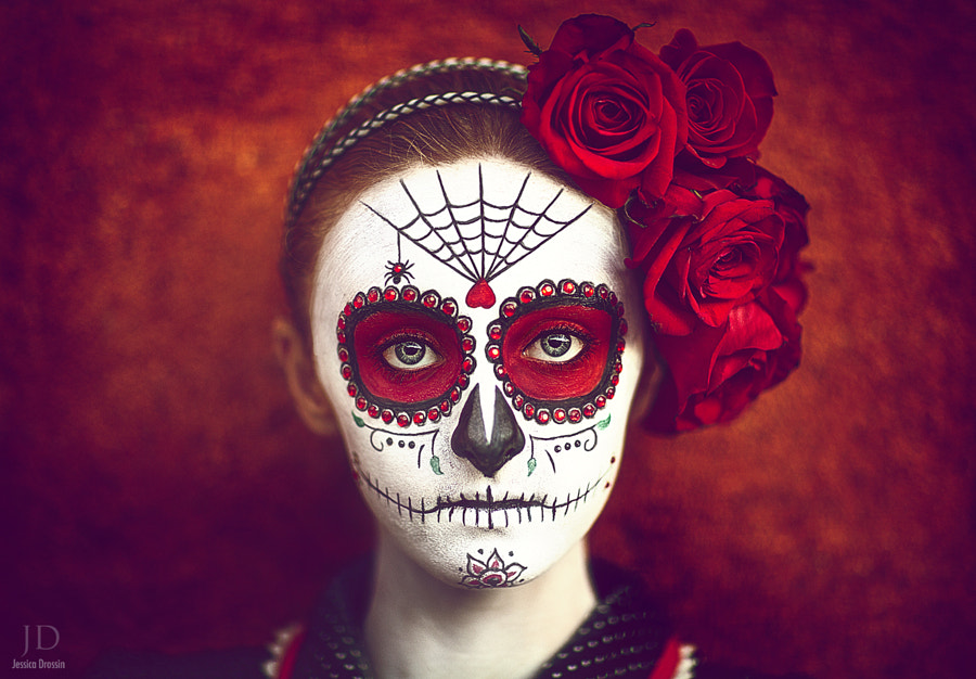 Dia de los Muertos (color version) by Jessica Drossin on 500px.com