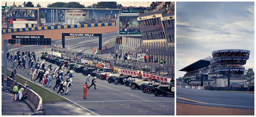 Photograph Le Mans Start, and the calm before the chaos by Tim Brown on 500px