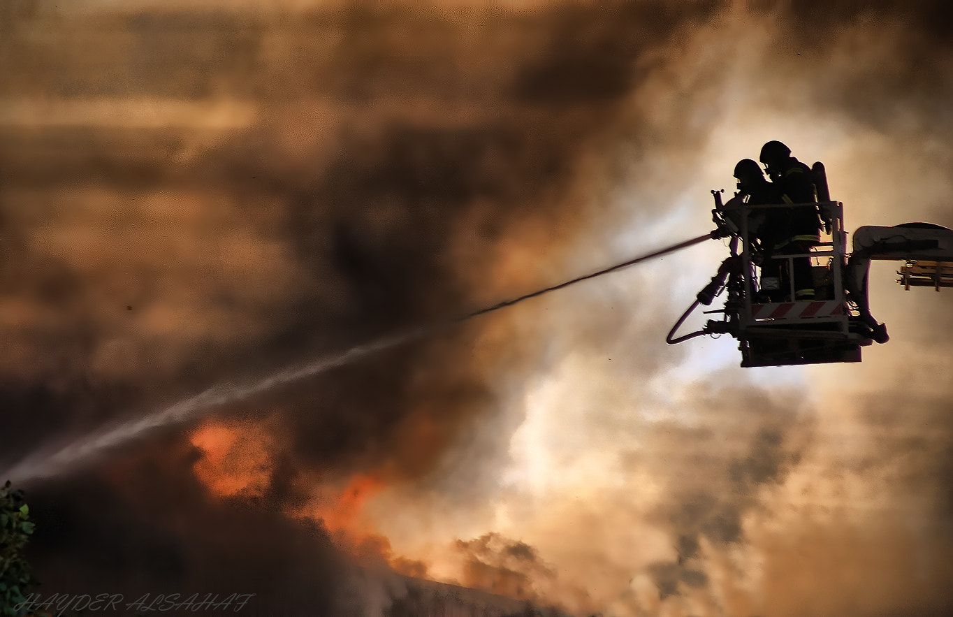 Photograph Firefighters  by Hayder Alsahaf on 500px