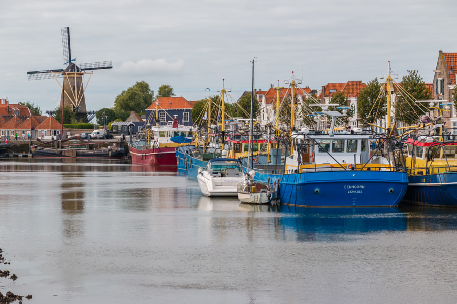 Port of Zierikzee, The Netherlands by Mark Evers on 500px.com