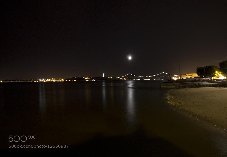 Photograph A stranger in Lisboa night by Yildirim Yanaroglu on 500px