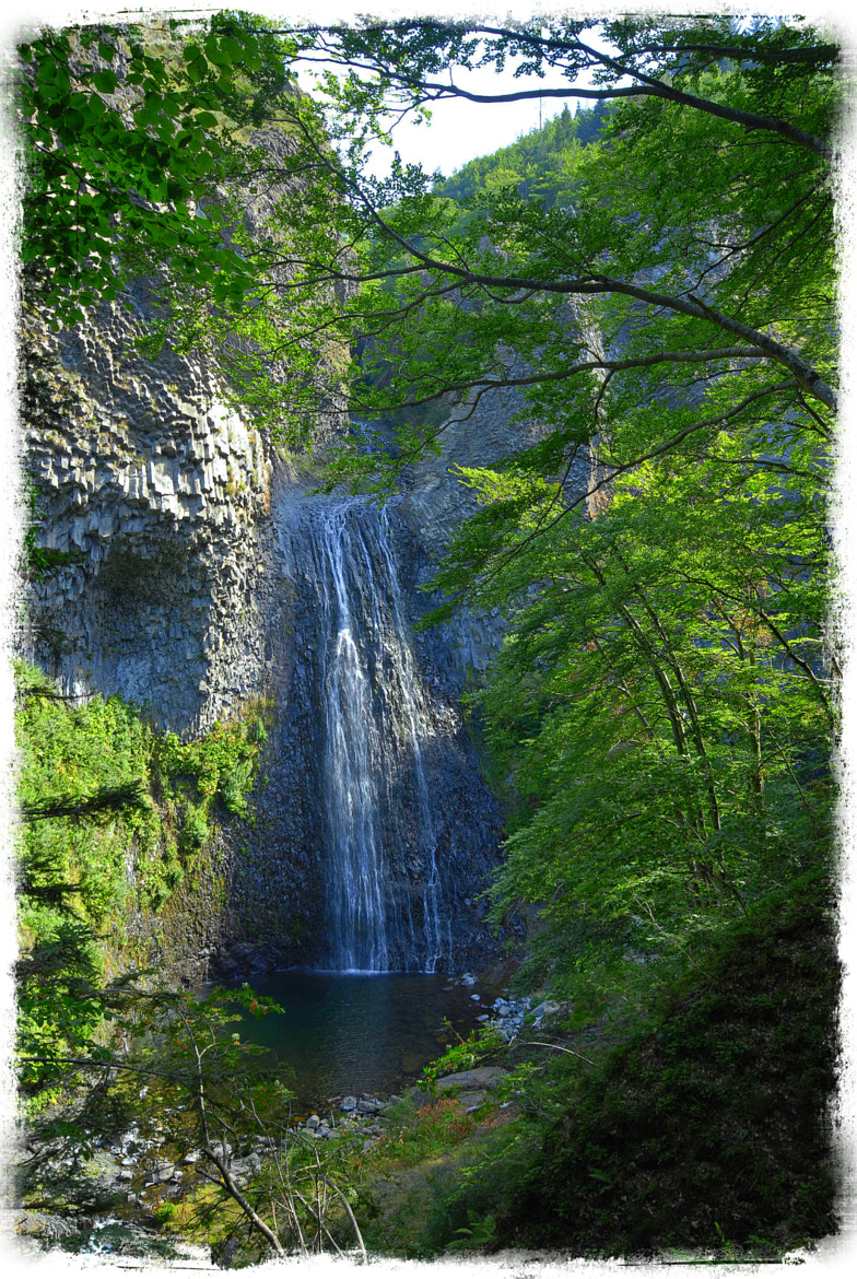 Photograph Ray Pic waterfall, Ardeche, France by John Barker on 500px