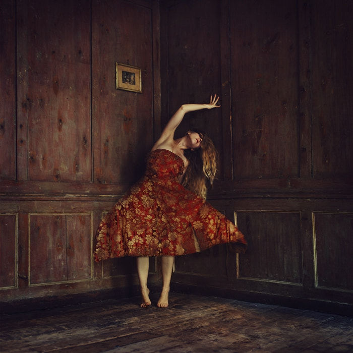 Photograph Hiding in the Dusty Curtains by Brooke Shaden on 500px