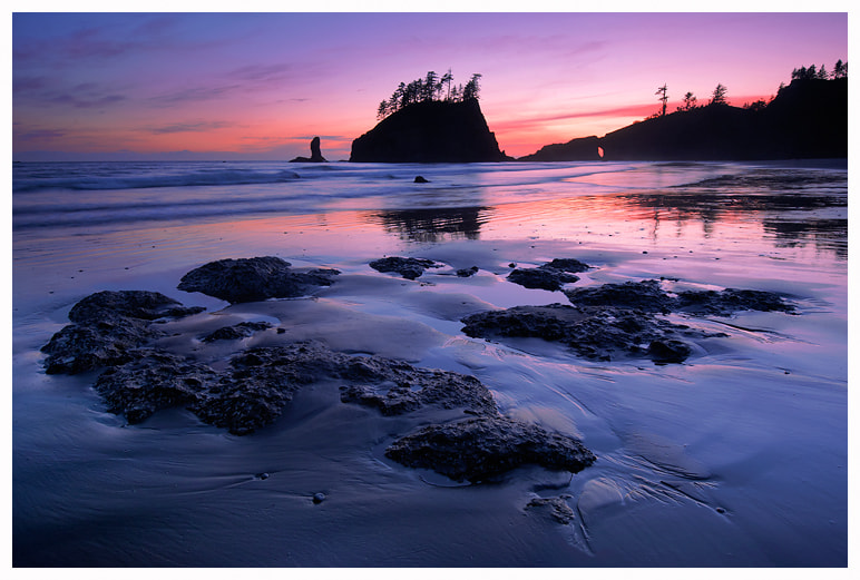 Photograph Twilight at Second Beach by Joseph Rossbach on 500px
