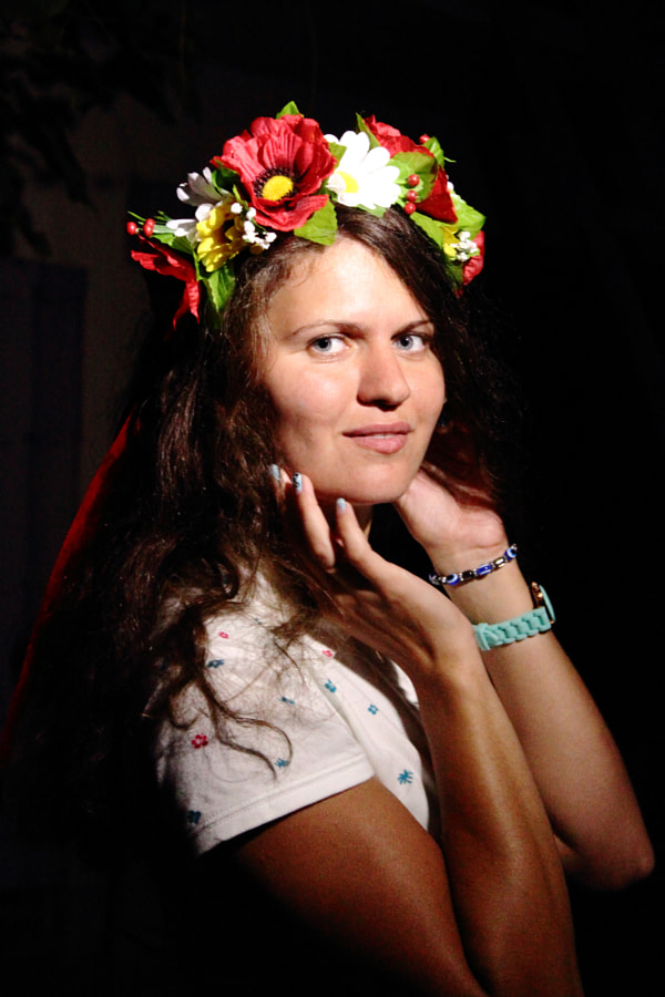 Girl from Ukraine, автор — Yaroslav Baran на 500px.com