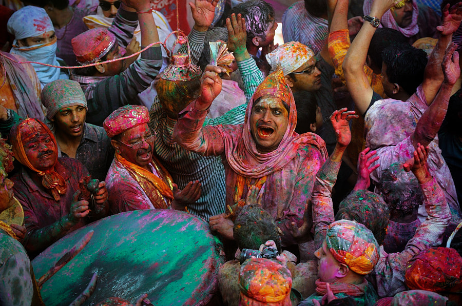 The Colours Of Holi by Vichaya Pop on 500px.com