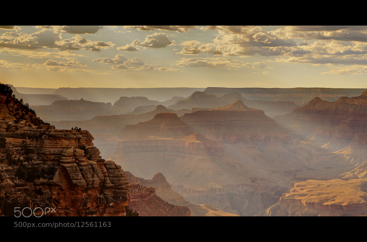 Photograph Canyon sunset by Kuo-Ling Huang on 500px