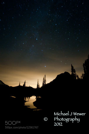 Photograph Stars Over Lake Tipsoo by Michael Wewer on 500px