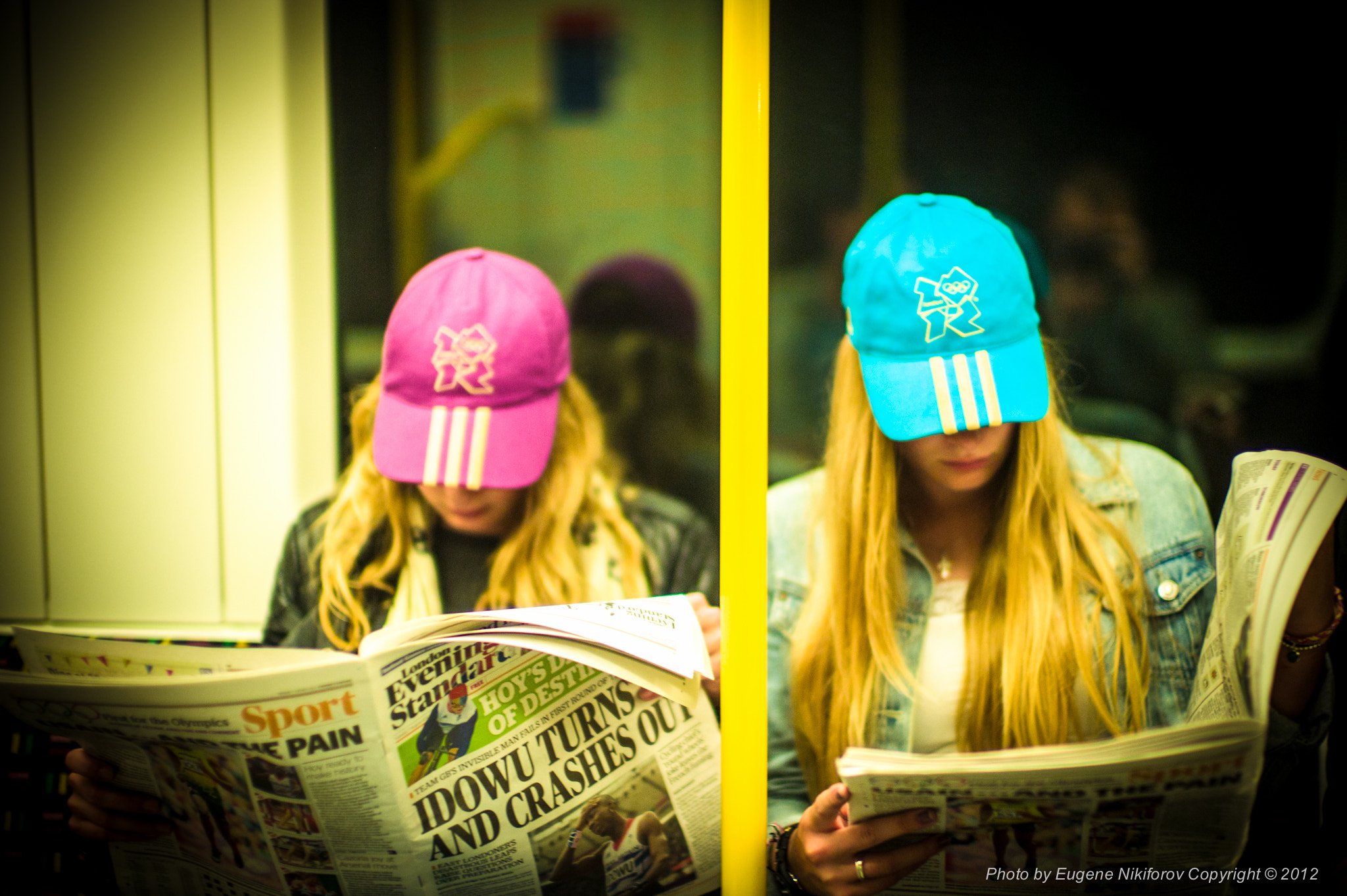Photograph London 2102 Олимпиские блондинки, olympic blondes by Eugene Nikiforov on 500px