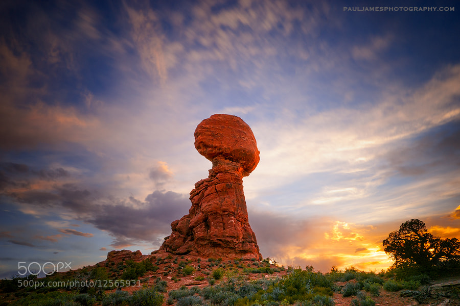 Photograph Balanced Rock by Paul James on 500px