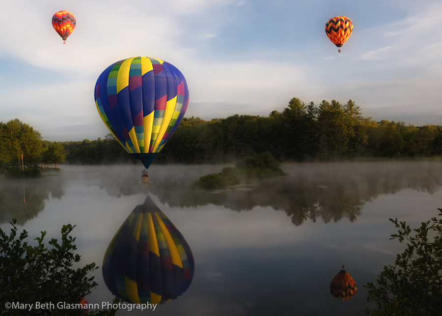 Photograph Pittsfield, NH, Balloon Festival by Beth Glasmann on 500px