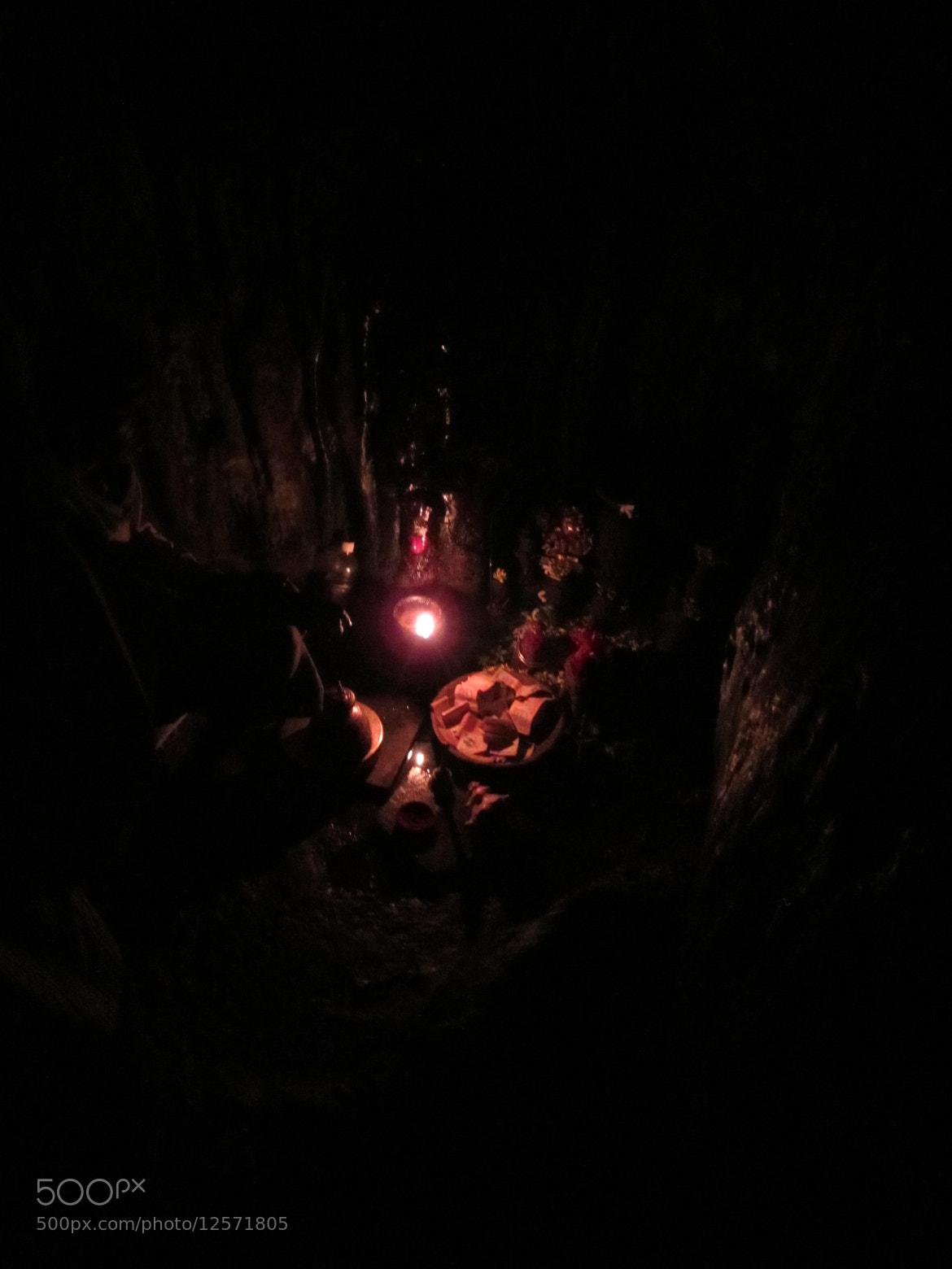 Photograph rare light inside a cave by lokesh goyal on 500px