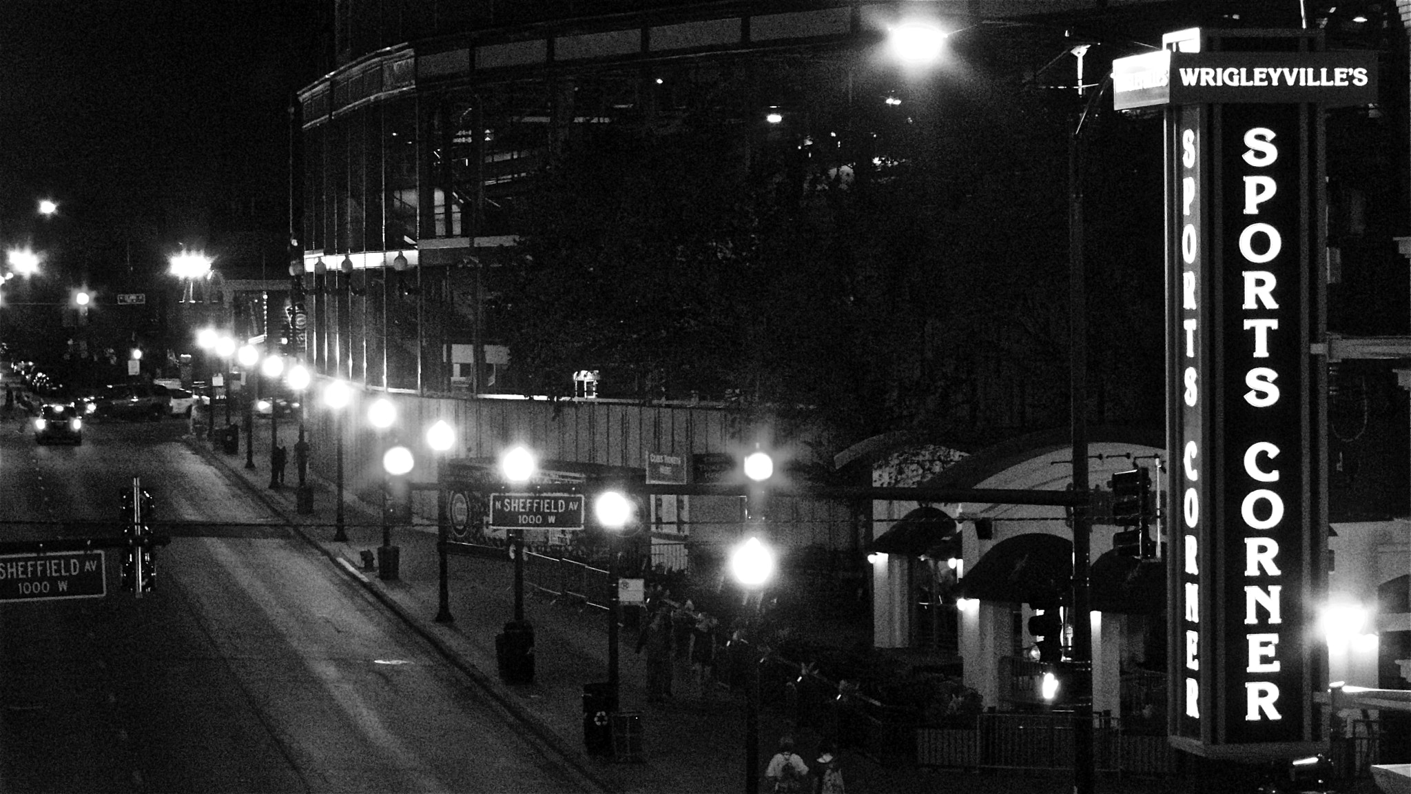 Photograph Quiet Night In Wrigleyville by Dan Marder on 500px