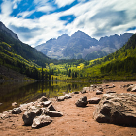 Maroon Bells by Zach Becker (zachit)) on 500px.com