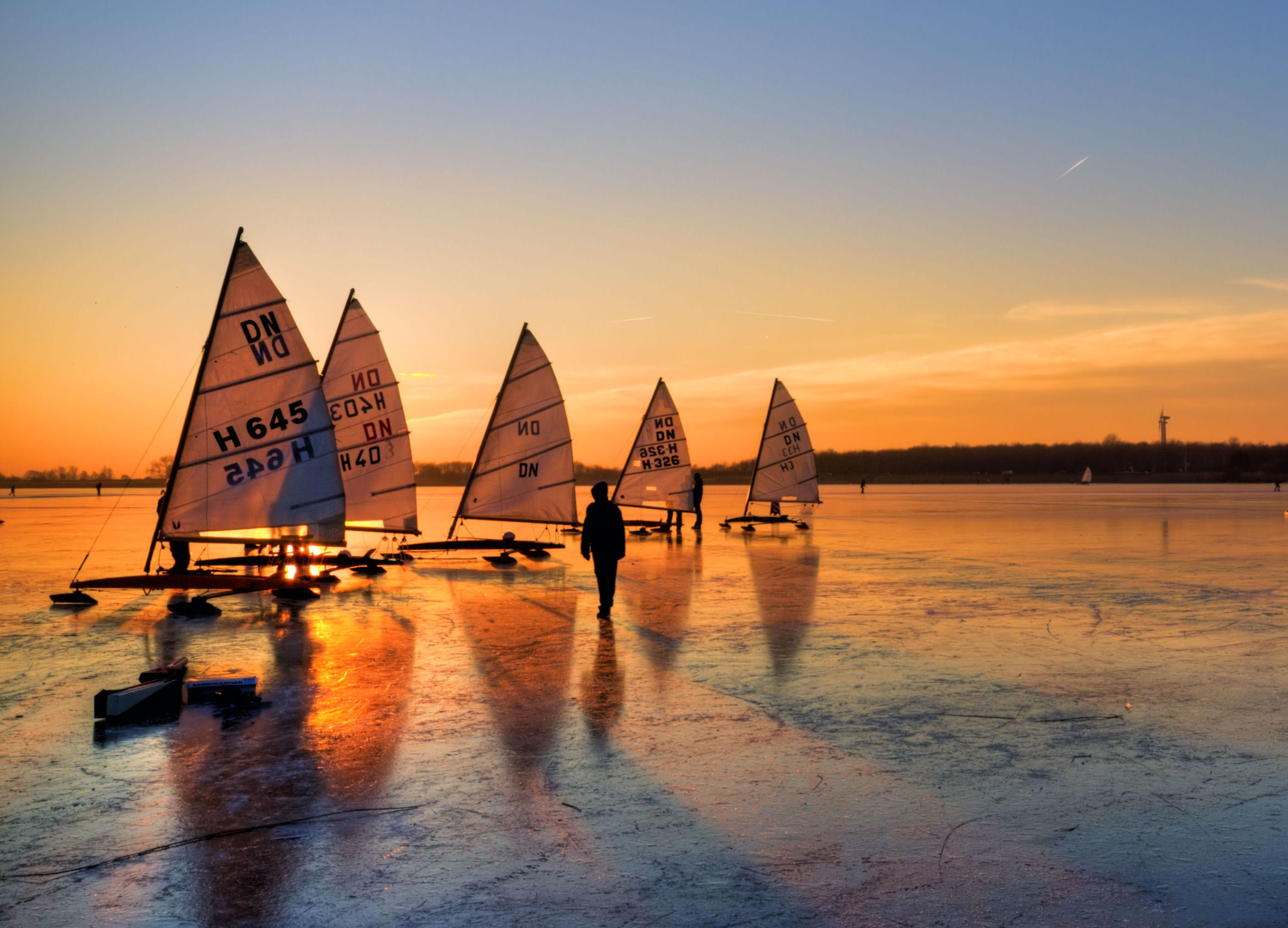 Photograph Ice Sailing by hetty mellink on 500px