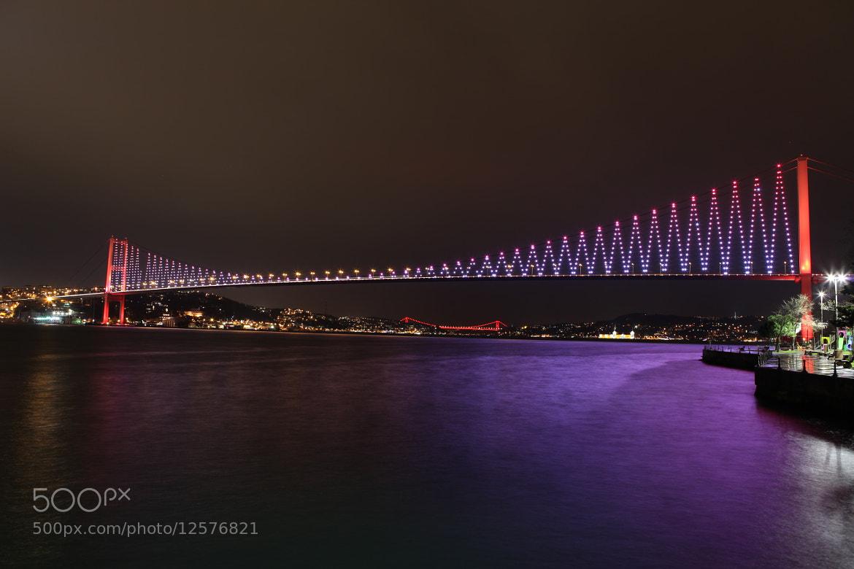 Photograph Bosphorus Bridge by Doga Yarman on 500px