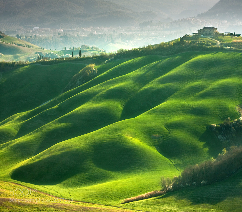 The Rolling Hills Of Tuscany And Moravia By Photographer