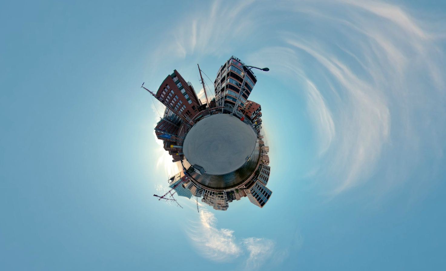 Photograph Little PLanet HafenCity Hamburg by Thorsten Veith on 500px