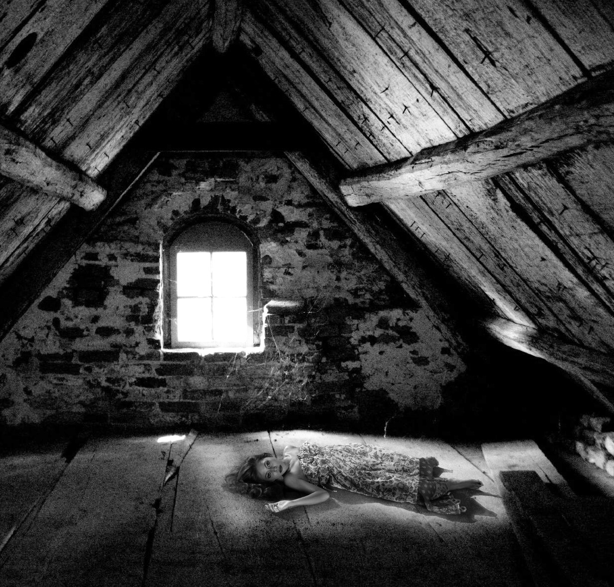 Photograph Lady in the Attic by Aldo Rey on 500px