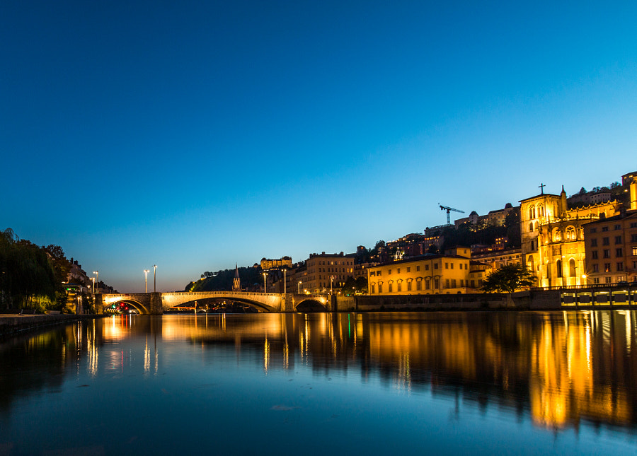 Old Lyon by night by Paweł M on 500px.com