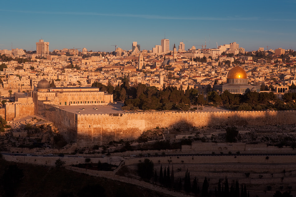 Photograph Sunrise over the Jerusalem by Ilya Filippov on 500px