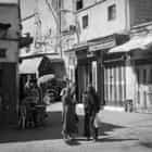 People in a souk street (Morroco)