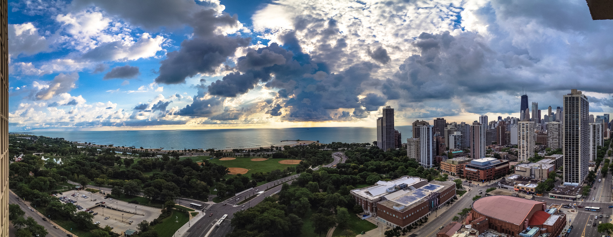 Photograph August Clouds Pano by Chris Allen on 500px