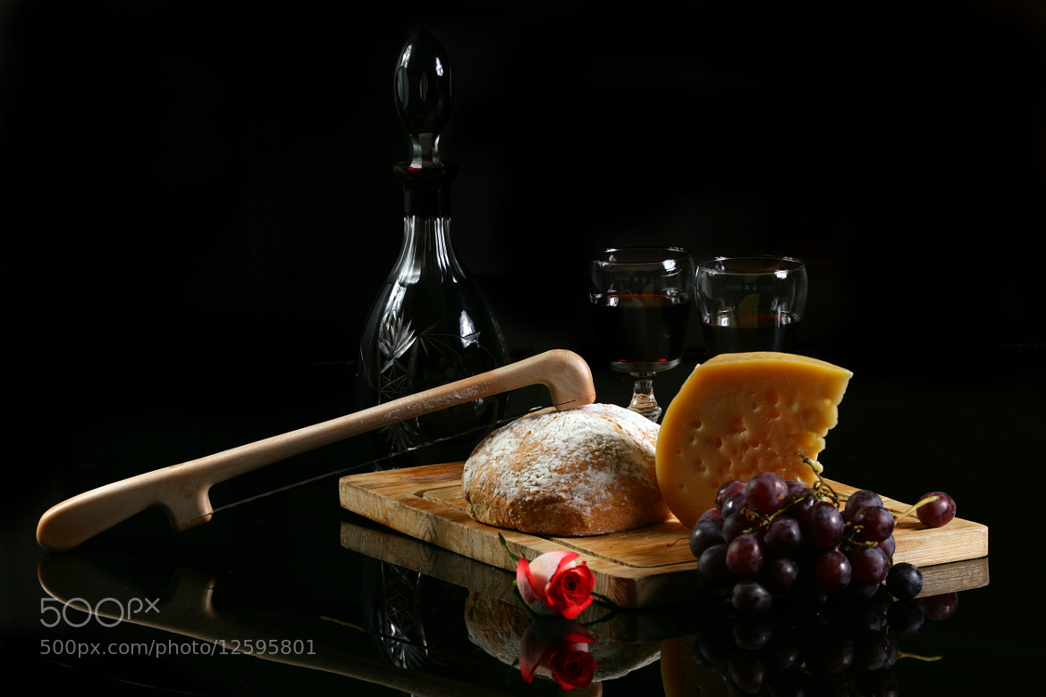Photograph Wine, Cheese and Bread by Cristobal Garciaferro Rubio on 500px