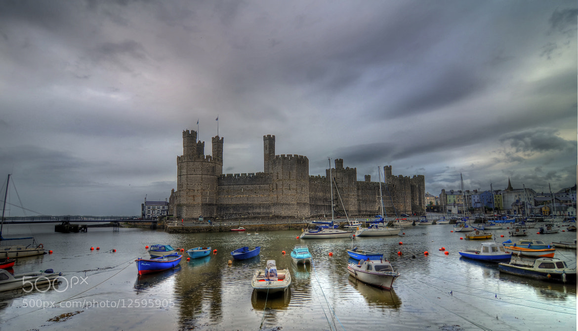 Photograph Caernarfon Castle by Ron Fullelove on 500px
