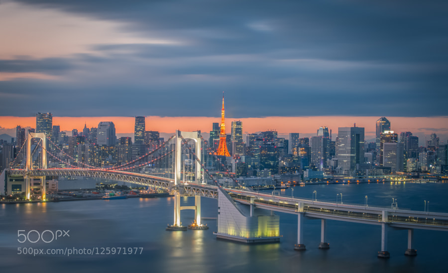 Tokyo city view by sakarin_ceo